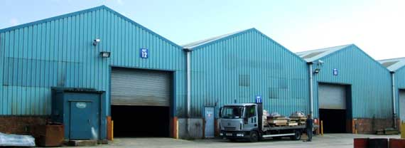 Tapton Business Park Industrial Units for rent